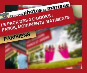 Photos Mariage : meilleurs parcs, monuments et batis à Paris