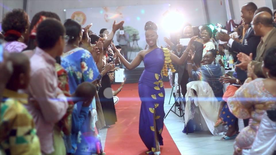 Défilé de Mode Afro Original de Mlle Blé
