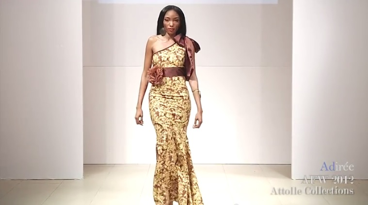 Défilé Attolle Collections | Africa Fashion Week