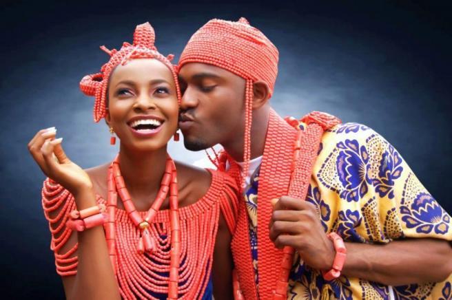 Inspiration Mariage traditionnel Africain : L'ethnie Edo au Sud-Ouest du Nigéria