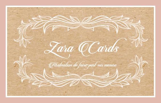 Zara Cards Faire-part